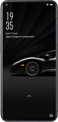 Smartphone Oppo Find X Lamborghini Noir 512Go