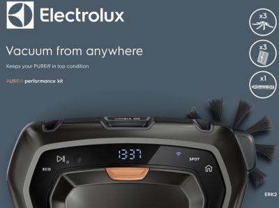 Kit de nettoyage Electrolux ERK2 filtre+brossette+brosse PUREi9