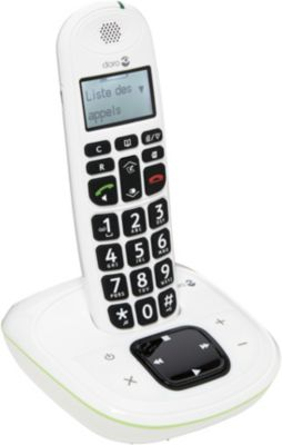 Téléphone sans fil Doro Phone Easy 115 Blanc