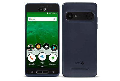 Smartphone DORO 8035 Bleu nuit