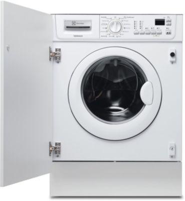Lave linge séchant hublot encastrable Electrolux EWX 127410 W