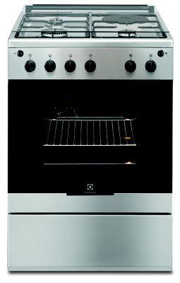 Cuisinière mixte Electrolux EKM60300VX