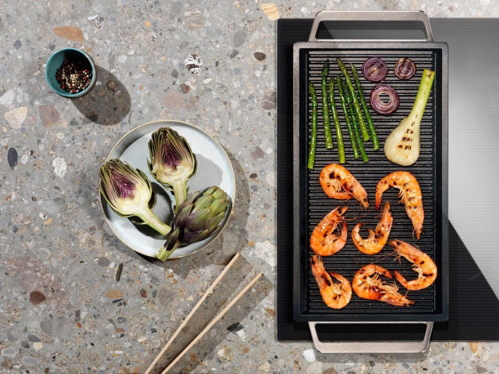 Plaque de cuisson avec sonde