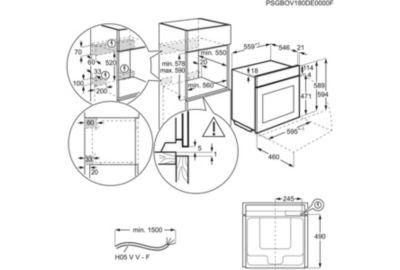 Four Pyro ELECTROLUX EOB8S31Z
