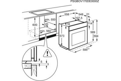 Four Pyro ELECTROLUX EOF7P00Z