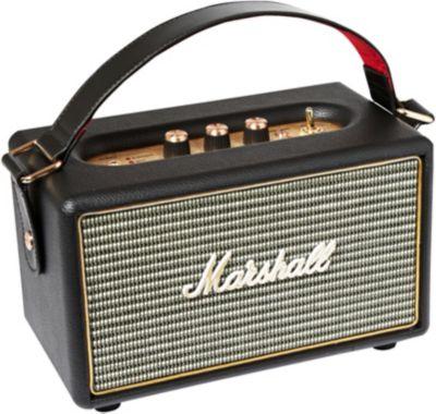 Enceinte Bluetooth Marshall Kilburn noir + Casque Arceau Marshall Major II BT noir