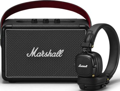 Enceinte Bluetooth Marshall Kilburn II + Casque Major III BT