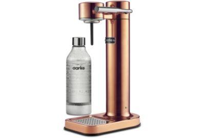 Machine Soda AARKE Carbonator II - Metal doré