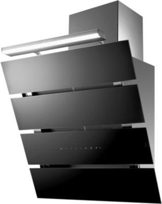 roblin creatix 800 verre noir hotte d corative boulanger. Black Bedroom Furniture Sets. Home Design Ideas