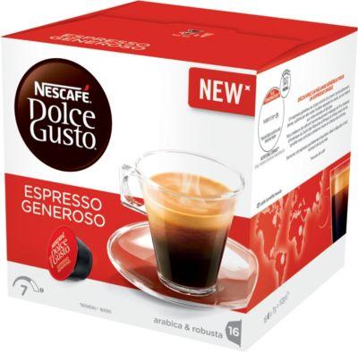 Dosette Dolce Gusto Nestle Nescafé Espresso Generoso Dolce Gusto