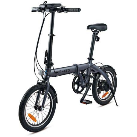 Vélo VAE MICRO MOBILITY E-Bike noir