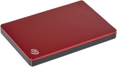 Disque Dur externe seagate 2.5'' 1to back up plus slim rouge