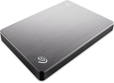 Disque dur externe Seagate 2.5'' 2To Back Up plus Slim Silver