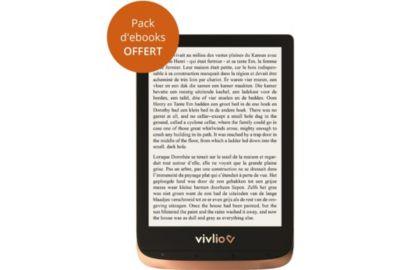 e-book VIVLIO Touch HD Plus 6¨ Noire/Doré - 16Go