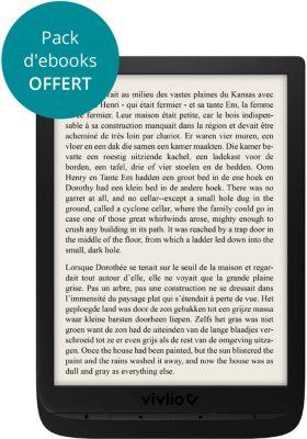 Liseuse eBook Vivlio InkPad3 7,8¨ Noire - 8Go
