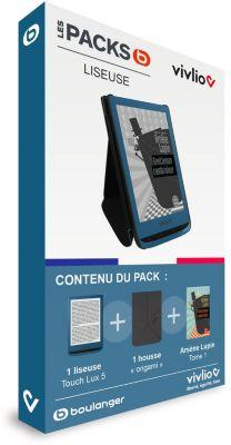 Liseuse eBook Vivlio Pack 3 en 1 Arsène Lupin - Touch Lux 5