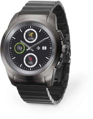 mykronoz zetime titane metal 44mm montre connect e. Black Bedroom Furniture Sets. Home Design Ideas