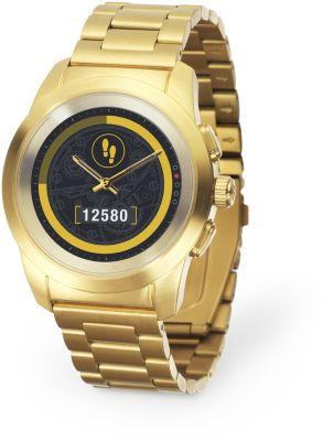 mykronoz zetime gold metal 44mm montre connect e boulanger. Black Bedroom Furniture Sets. Home Design Ideas