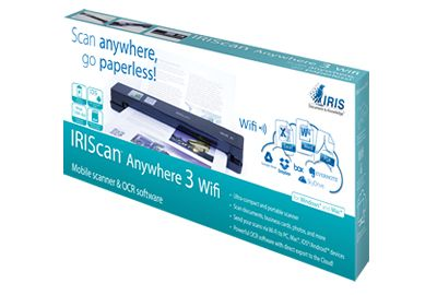 Scanner IRIS IRIScan Anywhere 3