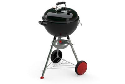 weber kettle plus 47 cm noir barbecue charbon de bois. Black Bedroom Furniture Sets. Home Design Ideas
