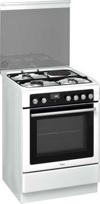 Cuisinière mixte Whirlpool AXMT6434WH