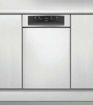 Lave vaisselle encastrable 45 cm Whirlpool WSBC3M17X