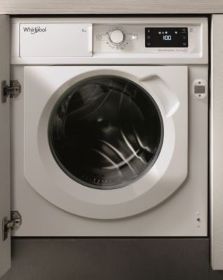 Lave linge hublot encastrable Whirlpool BIWMWG81484EU