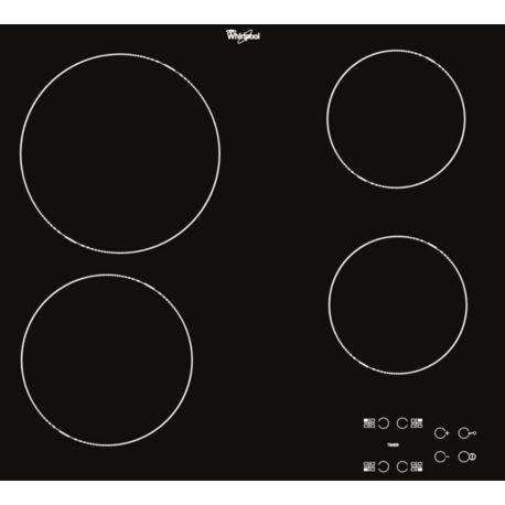 Table cuisson vitrocéramique WHIRLPOOL AKT8090NE