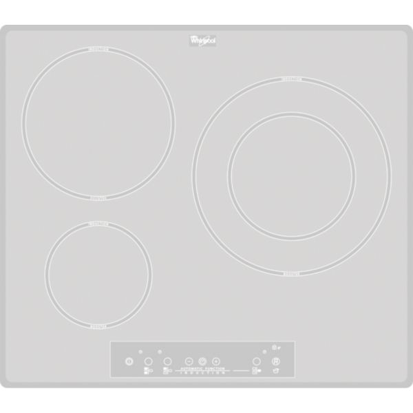 Table De Cuisson Induction Acm680newh Whirlpool Webdistribcom