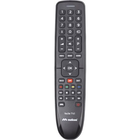 Télécommande MELICONI Facile TV.1
