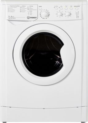 Lave linge séchant hublot Indesit IWDC7145