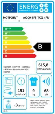 s che linge condensation hotpoint aqc9bf5t z1 fr. Black Bedroom Furniture Sets. Home Design Ideas