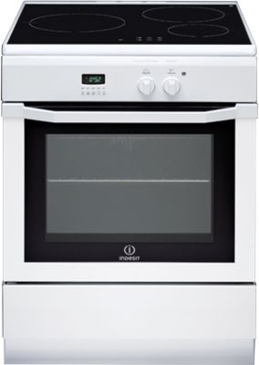 Cuisinière induction Indesit IC63I6C6A (W) FR