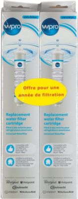 Filtre À eau wpro lot de 2 univ pour ref us sms200