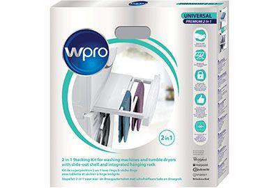 Kit WPRO SKP101 universel lave-linge/sèche-linge