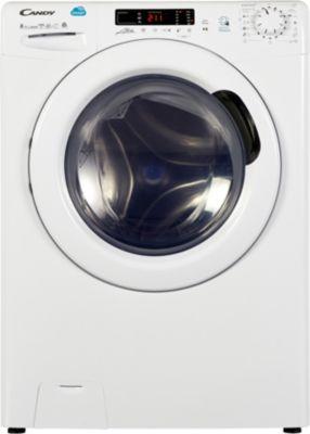 Lave linge séchant hublot Candy CSW 485D/5-S