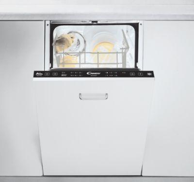 Lave vaisselle encastrable 45 cm Candy CDI 2L1047