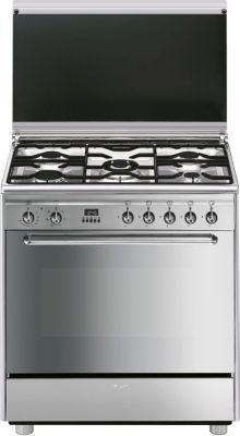 Piano de cuisson gaz Smeg SCB80MFX5