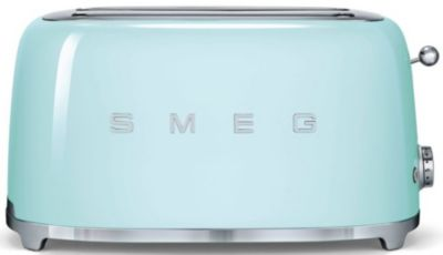 Grille-pain Smeg TSF02PGEU Vert d'eau