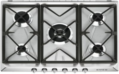 smeg sr975xgh plaque gaz boulanger. Black Bedroom Furniture Sets. Home Design Ideas