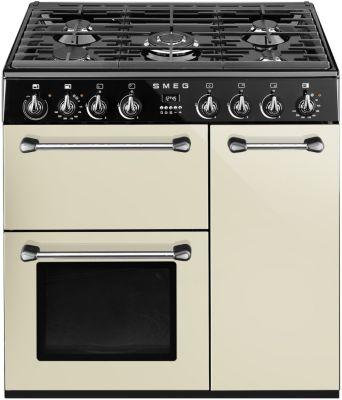 Piano de cuisson mixte Smeg BM93P crème
