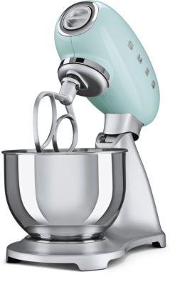 Robot pâtissier Smeg SMF01PGEU VERT D'EAU