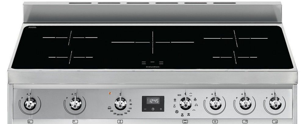 Smeg c9cimx9 piano de cuisson boulanger for Piano cuisine induction