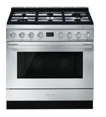 Piano de cuisson mixte Smeg portofino CPF9GMX