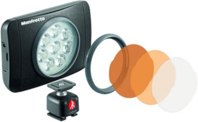 Torche Manfrotto 8 led 550 lumens lumie muse + rotule