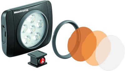 Torche Manfrotto 6 led 440 lumens lumie art