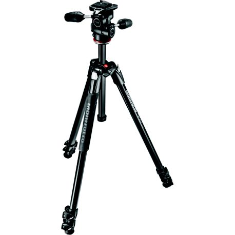 Trépied MANFROTTO 290 XTra + Rotule 3D MH804-3W