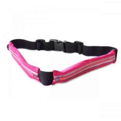 Ceinture Puro ceinture smartphone 2 poches sport rose