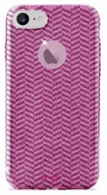 Coque Puro iphone 7/8 chevron rose