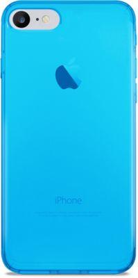 Coque Puro iPhone 7/8 bleu fluo